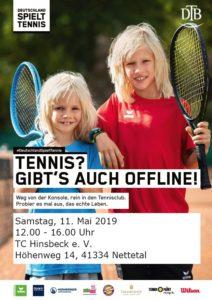 """""""Deutschland spielt Tennis"""" @ TC Hinsbeck"""